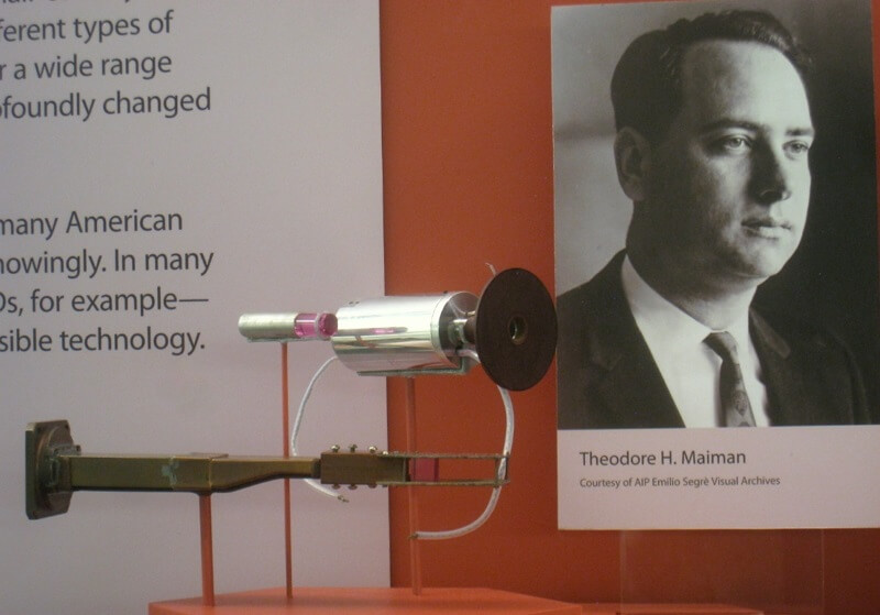 Theodore Maiman and first laser