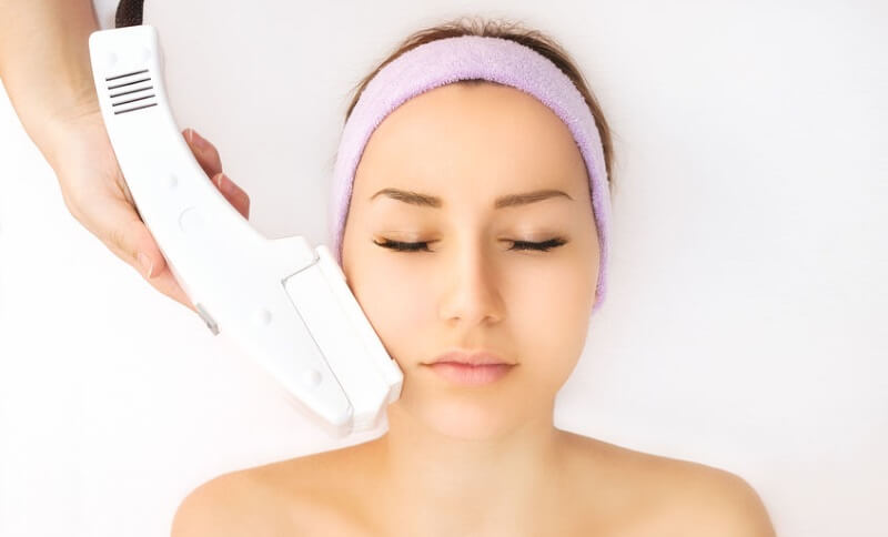 laser hair removal face treatment
